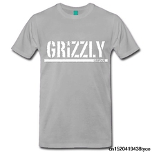 Jzecco Hot Selling grizzly tops tees O-Neck Motion animal t-shirt Cotton men's short sleeve tee shirts(China)