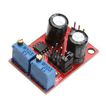 NE555 Pulse Frequency Duty Cycle Adjustable Module Wave Signal Generator For experimental/Circuit Control/Motor Driver/MCU Pulse