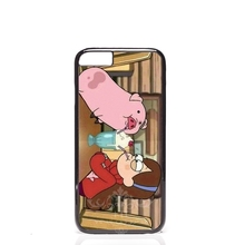Max gravity drops pig Best cell phone bags case cover for iphone 4S 5S 5C SE 6S 7 PLUS Samsung S3 S4 S5 S6 S7 note IPOD Touch 5