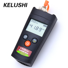 KELUSHI FTTH 2 In1 Handled Fiber Optical Power Meter APM-80T -70~+60dBm 1310/1490/1550nm Cable Testing Tool Visual Fault Locator