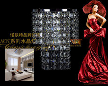 Dimmable color Crystal led Ceiling Lights Stainless Steel LED lamps bedroom study Crystal led Ceiling Lights