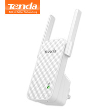 Tenda A9 300M Wireless WiFi Repeater, WiFi Signal Amplifier, Wireless Router WiFi Range Extender Expander Booster, Easy Setup(China)