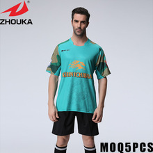 soccer jersey personalized soccer football shirt tshirt custom print(China)