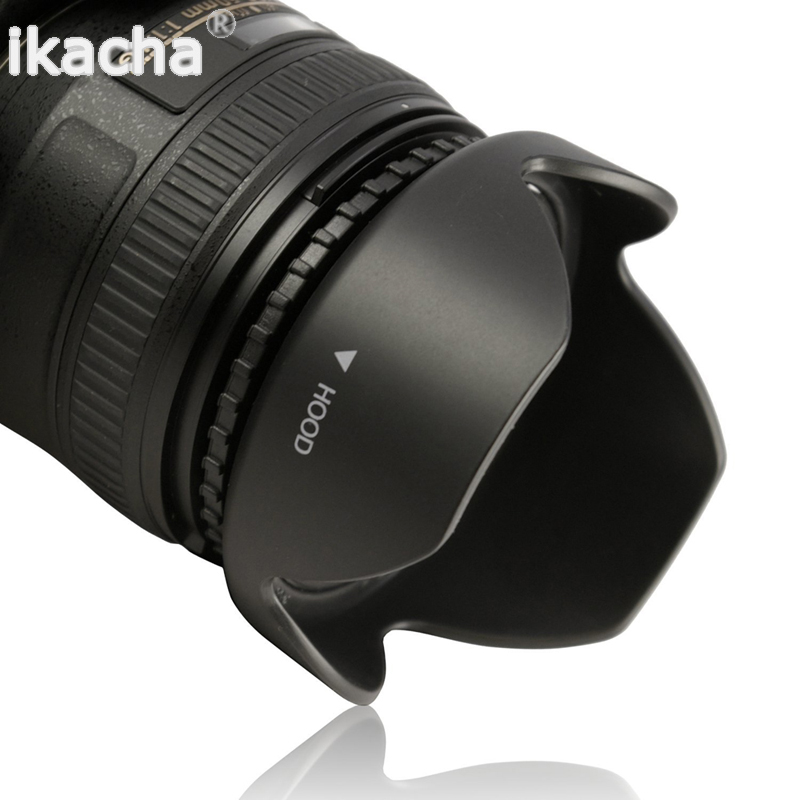 Reversible Petal Flower Lens Hood (6)