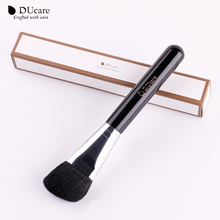 DUcare Super Soft Angled Contour Sculpting Brush Goat Hair Premium Contouring Brush Makeup Tool For Powder Bronzer(China)