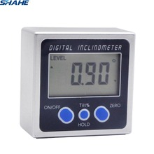 mini digital protractor angle digital angle ruler measures plastic inclinometer digital
