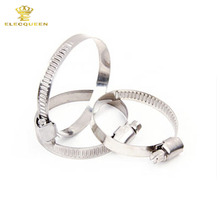 5 pcs/lot, Stainless Steel Band 18-29mm Adjustable Worm Gear Hose Clamp Hose hoop Pipe Clips(China)
