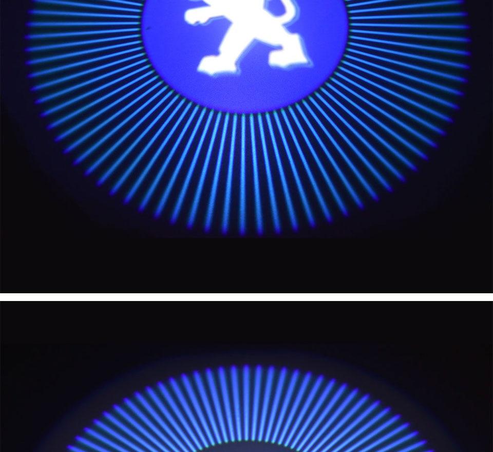 car door light welcome lamp auto decoration bulb car brand logo projector (8)
