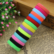 Aikelina 50 pcs/lot Rubberbands Hot Candy Cute Child Kids Girls Hair Holders Elastics Tie Gum Hair Accessories Headwear