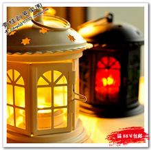 Small house candle station fashion classical mousse glass decoration tieyi romantic(China)