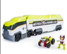 2017 the latest Patrol Dog Toys The jungle super bus parking lot with captain gave children the best gift