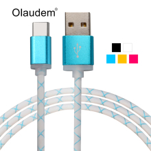 Hi-Speed USB 3.1 Type-C Data Sync Charging USB-C Cable For Macbook Nexus 5X 6P Nokia N1 Oneplus 2 Lumia 950 950 XL USBC1098
