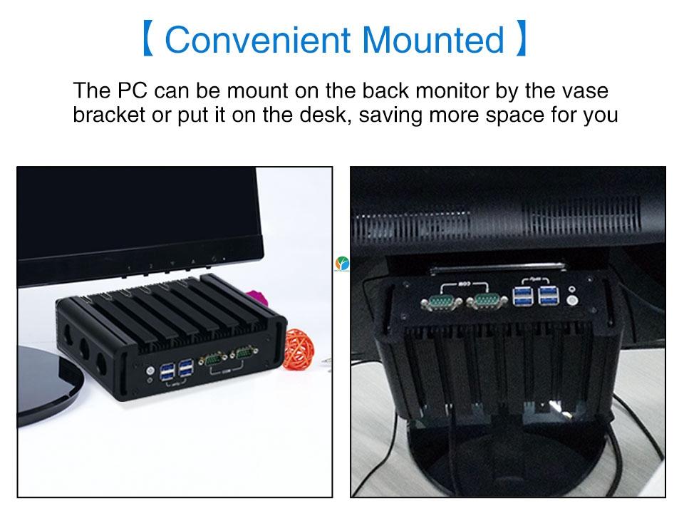 Mini PC i3 6100U i5 6200U (7)