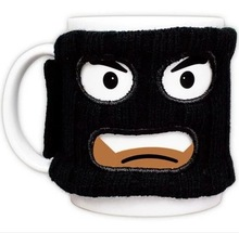 Super adorable Mug pirate masked robbers thief even funny Mug Cup insulation mask(China)