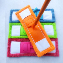 Mop Head Household Microfiber Coral Cleaning Pad Dust Mops Refill Replacement(China)