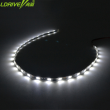 12V 45CM Waterproof wheel rim bike car styling white blue LED Angel eyes Flexible Strips Daytime Running Light Flashing lights