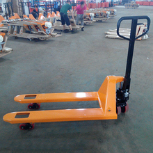Warehouse Handling Equipment 2500kg Manual Hydraulic Pallet Truck(China)