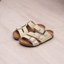 New Brand Summer Kids Children Shoes Sandals Toddler Baby Boys Flip Flops Children Fashion Pu Leather Flat Sandals For Girls