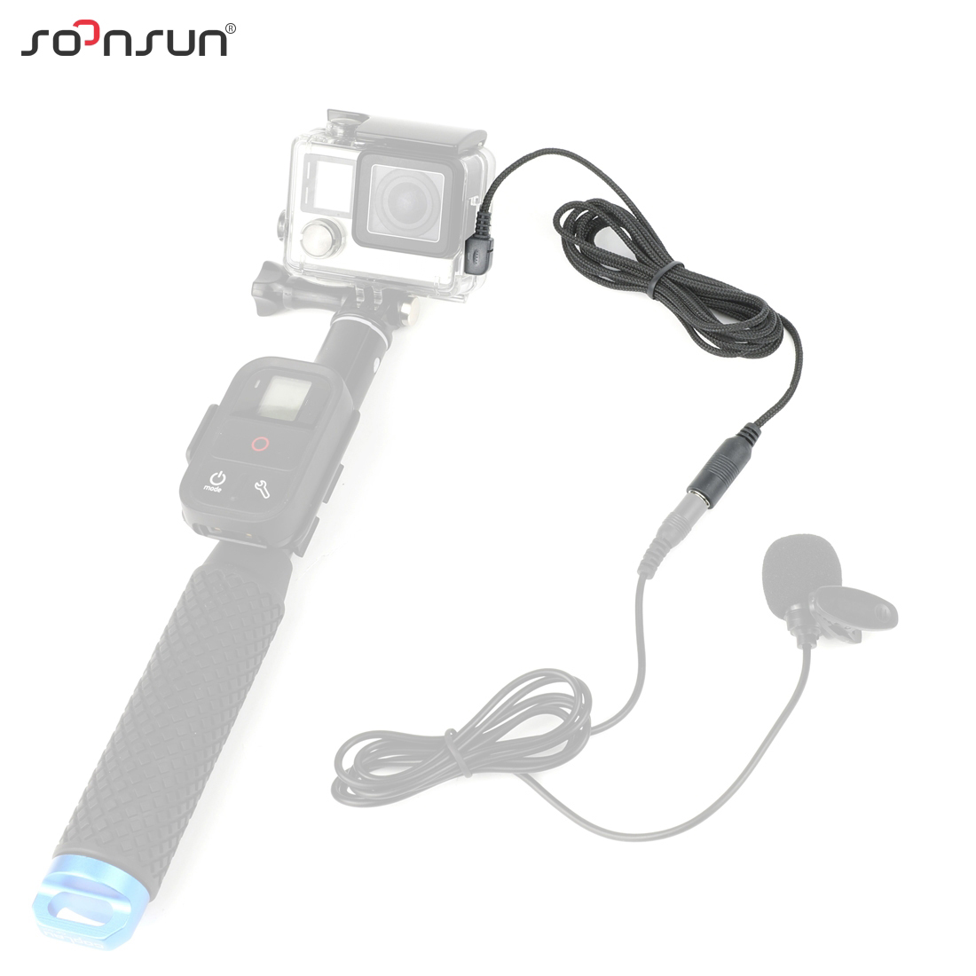 GoPro Microphone Adapter GPO-2004g