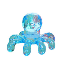 Portable Crystal Massage Handheld Octopus Massager For Relieving Neck Abdomen Back Muscle Pain