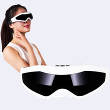 New Arrival Fashion Delicate Healty Mask Use USB Migraine DC Electric and Battery Care Eye Massager with 1USB Cable(China)
