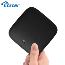 Original Global Version Xiaomi Mi Box 3 Android 6.0 TV Set-top Box 4K 60fps Amlogic Quad Core Cortex-A53 Mali-450 2GB 2.4/ 5G