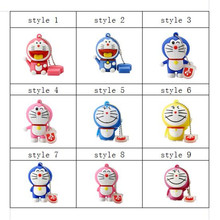real capacity memory stick cute cartoon doraemon usb flash drive 64g 32g 16g pen drive 8g 4g usb pendrives usb 2.0 thumbdrive(China)