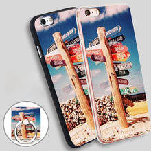 Vintage Travel The World Sign Wanderlust Soft TPU Silicone Phone Case Cover for iPhone 4 4S 5C 5 SE 5S 6 6S 7 Plus
