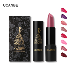 UCANBE Brand Shimmer Matte Lipstick Set Makeup 8 Colour Smooth Moisturizer Full Lips Red Lip Stick Pen Lip Tint Nude Cosmetics(China)