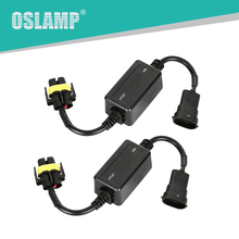 Oslamp Error Free Canbus Decoder for LED Car Headlight Bulb Kits for SUV Fog Lamps H4 H7 H11 H13 9005/HB3 9006/HB4