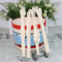5PCS Syringe Pen Writing Supplies Bone shape ballpoint pens Wholesale New creative gift school supply(China)