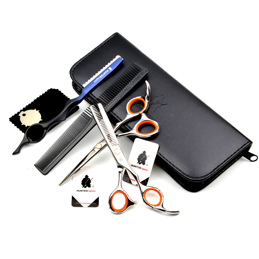 80% Off Free Shipping 5.5,6 inch Professional barber cutting scissors set hair razor cutting scissor and thinning shears kits<br><br>Aliexpress