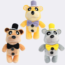 30cm Freddy Anime Figurines Doll Soft Stuffed Plush Doll Game Role Five Nights At Freddys Golden Freddy Toys for Children gift