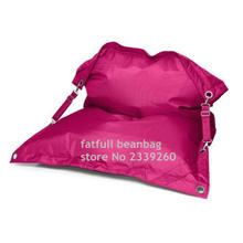 Cover only  No Filler- Pink outdoor bean bag chaise longue, living room furniture,large beach hammock,comfort bean bag chairs