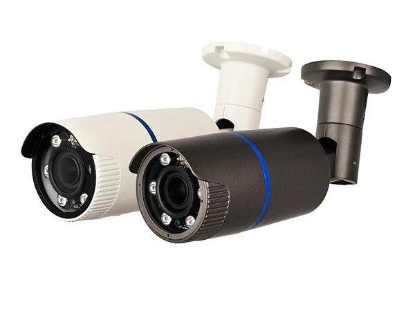 TVI Camera 1080P CCTV Bullet Camera 2.8-12mm Lens CMOS Security Camera With OSD Menu(Default black)<br>