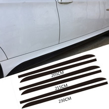 Buy 5D Carbon Fibre M Performance Side Skirt Sill Decal Stickers BMW F30 F32 F33 F10 F11 E60 E61 E90 E91 X5 F15 Car Styling for $20.66 in AliExpress store