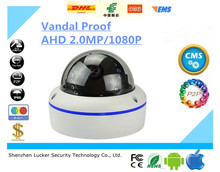 Luckertech Secure 1.0MP 1.3MP 2.0MP 1080P HD AHD Vandal proof Mini Dome CCTV Camera Elevator Lift Use Surveillance Camera
