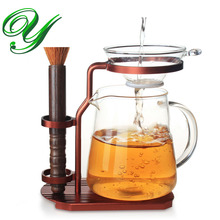 Kung fu tea pot set tray holder infuser strainer stainless steel coffee filter dripper alloy stand te accessories maker tea clip