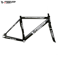 VISP TRX 790 Fixied Bike Frame High Quality Aluminum Fixed Gear Frame 48cm/50cm/52cm/54cm/56cm/58cm/60cmThere Are Four Kinds of(China)