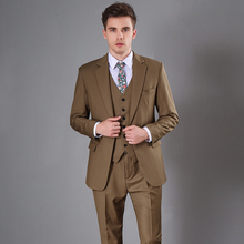 Buy khaki men suit and get free shipping on AliExpress.com