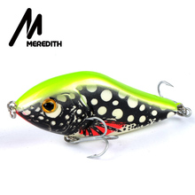 Meredith Fishing Rattlesnake Lures 1pcs 20g 7.5cm VIB Lures Fishing Vibration For All Water Levels Wobblers Hooks Carp Fishing(China)