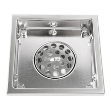Stainless Steel Invisible Grate Wet Room Shower Floor Drains for Bathroom Shower Drain with Cover Floor Drainer