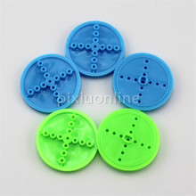 5pcs/lot J666 Plastic 2*30mm Model Toy Car Wheel Belt Wheel DIY Maker Use(China)