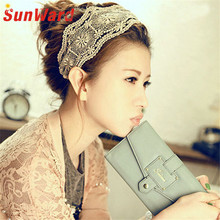 New Fashion  Sunward Coolbeener Jewelry And Lace Embroidered Flowers With Wide Hair With Hair Headdress nov21 Drop Shipping
