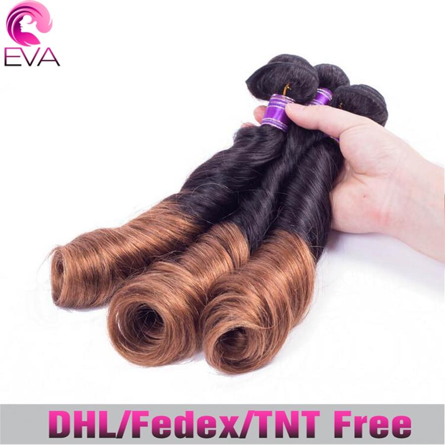 6A Grade Brazilian Ombre Hair Extensions Spring Curls Virgin Human Hair 3pcs Cheap Ombre Spiral Curl Human Hair Weave Free ship<br><br>Aliexpress