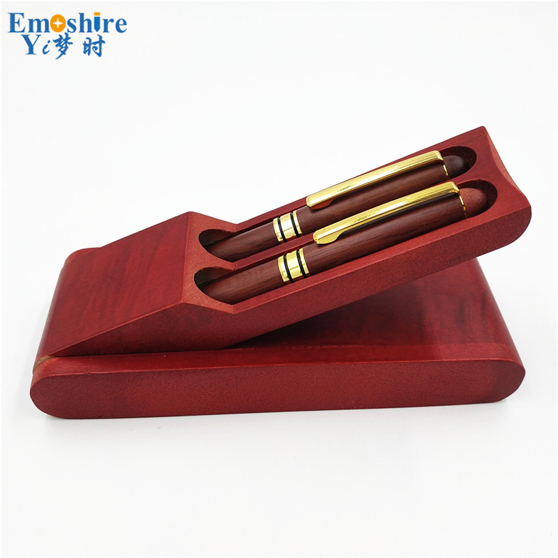 Emoshire Roller Ball Pen and Fountain Pen Cufflinks Gift Sets (2)
