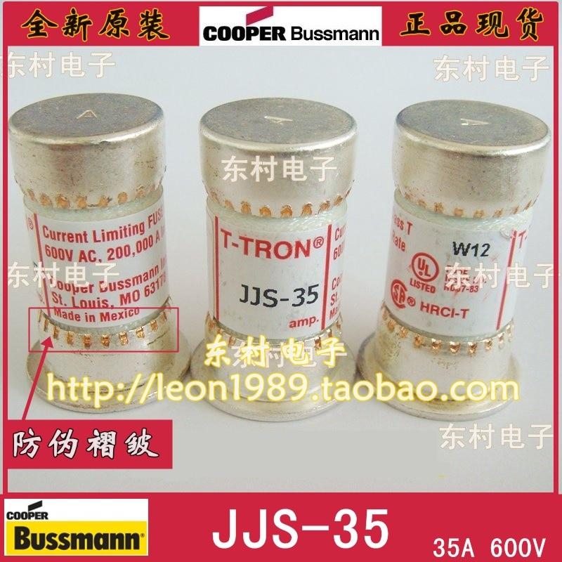 US Fuse BUSSMANN T-TRON fuse JJS-35 35A JJS-50 50A 600V<br>
