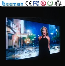 Leeman P10 P12 P16 P20 P31.75 P37.5 P40mm mesh strip indoor full color folding hanging led curtain display screen
