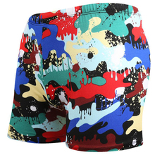 Buy Camouflage Men Swimming Trunks Briefs Swimwear Swimsuit Swim Shorts Pants Wear Colorful Bathing Beach Suit maillot de bain mayo