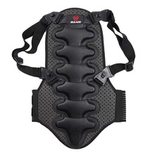 2017 Removable Ski Sports Back V Protection Ski Body Armor Backpiece Back Protective Protector Body Spine Black New(China)